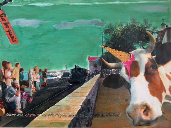 La vache a trois cornes (légende ciotadenne)