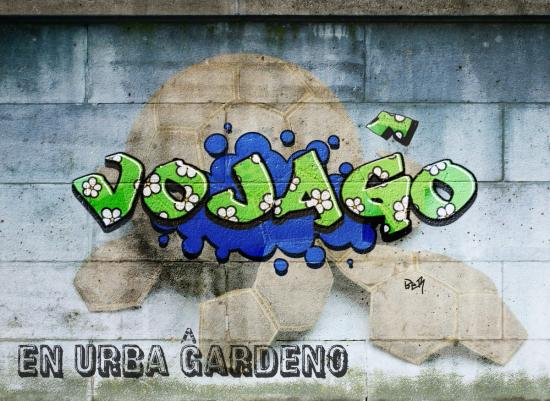 Voyage dans un jardin urbain